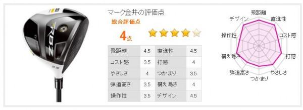 マーク金井RBZステージ2評価