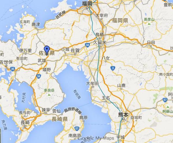 佐賀クラシックゴルフ倶楽部地図