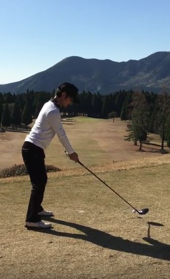 グリーンが凍ってる時のゴルフは難しい!直接狙っちゃダメ!