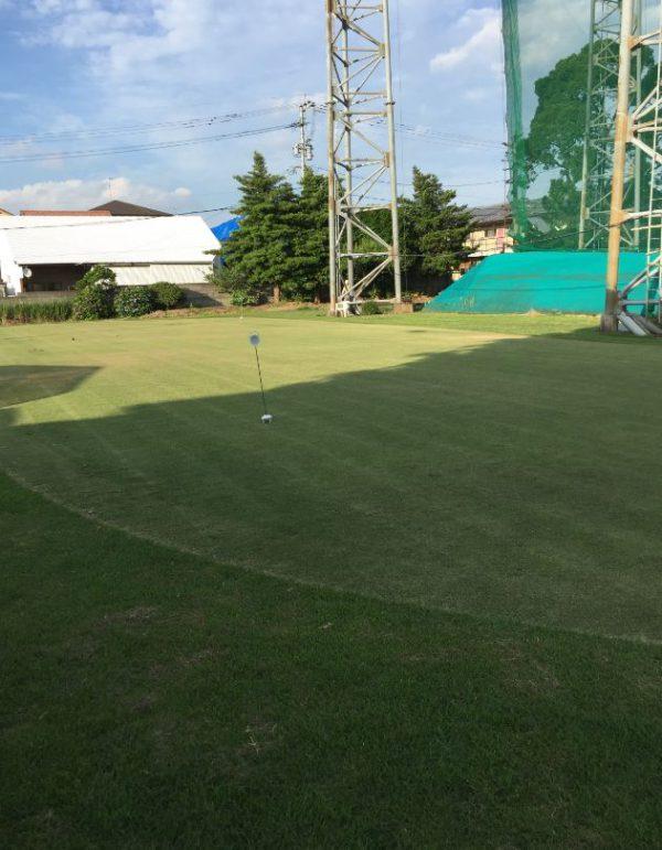 託麻インターゴルフのアプローチ練習場