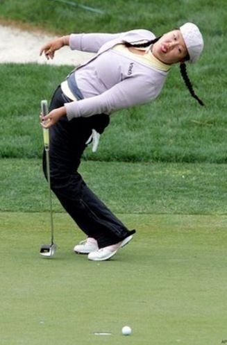 ゴルフパットが入らない